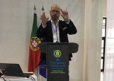 Erik Leonavicius als Gastredner auf der I9agri in Castello Branco, Portugal - Referenz - Innovation - REINVENTIS - Innovationsagentur - München