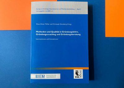 Gründungslehre / Entrepreneurship - Buch - Referenz - Innovation - REINVENTIS - Innovationsagentur - München