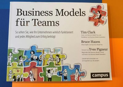 Business Models für Teams - Buch - Referenz - Innovation - REINVENTIS - Innovationsagentur - München