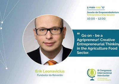 I9agri - Portugal - Leonavicius - Entrepreneurial Thinking - REINVENTIS - Innovationsagentur - München